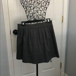 Black and gray skirt